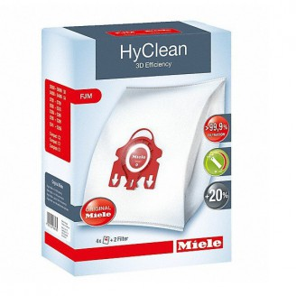 Miele Staubbeutel FJM HyClean 3D Maxipack / 4er Pack Farbe rot 09385900 9917710 online kaufen