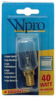 wpro ofenlampe 40 watt lfo 005 481281728322 lfo135. Black Bedroom Furniture Sets. Home Design Ideas