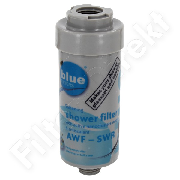 2 Bluefilters Anti-Kalk Duschfilter AWF-SWR-P-ANM-S